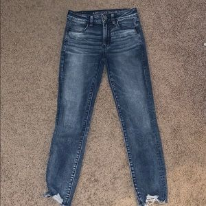 American Eagle Cropped (High Rise) Jeggings